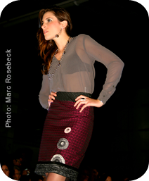 Photo Credit: Marc Roseburg | Designer Credit: Kim Vanyo's Kimism Skirt Line